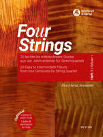 Fo(u)r Strings Vol. 1, 20 Easy to Intermediate Pieces for String Quartet