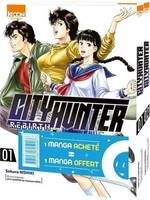 Pack offre découverte City Hunter Rebirth T01 & T02
