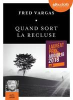 Quand sort la recluse - Prix Audiolib 2018, Livre audio 1 CD MP3