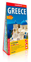 GRECE (ANG) 1/750.000 (CARTE GRAND FORMAT LAMINEE)