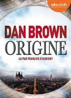 Origine, Livre audio 2 CD MP3