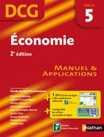 Economie, DCG, épreuve 5 / manuel & applications