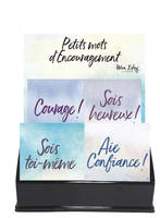 PRESENTOIR MOTS D'ENCOURAGEMENT - 16 VOLUMES