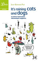 IT'S RAINING CATS AND DOGS - ET AUTRES EXPRESSIONS IDIOMATIQUES ANGLAISES, et autres expressions idiomatiques anglaises