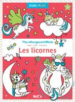 Mes coloriages scintillants : les licornes