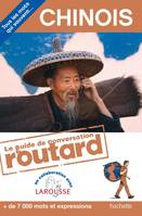 Le Routard guide de conversation Chinois, chinois