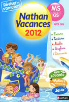 Cahier vances maternelle 4/5 ans  - moyenne section