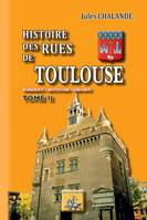Histoire des Rues de Toulouse (Tome 2), Monuments - Institutions - Habitants