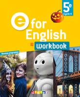 E for English, 5e, cycle 4, A2 / workbook