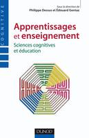 Apprentissages et enseignement - Sciences cognitives et éducation, sciences cognitives et éducation