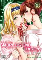 World's end harem - Edition semi-couleur T05
