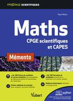 Maths, Cpge scientifiques et capes