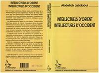 Intellectuels d'Orient, intellectuels d'Occident