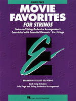 Essential Elements Movie Favorites for Strings, Value Pak - 24 part books, conductor score and CD