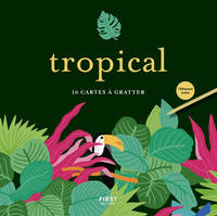 Tropical - 10 cartes à gratter