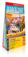 BARCELONE 1/20.000 (CARTE GRAND FORMAT LAMINEE)