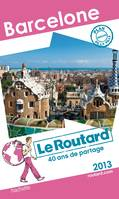 Le Routard Barcelone 2013