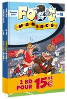 Les Foot maniacs - pack découverte tome 1 - tome 16