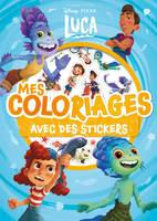 LUCA - Mes coloriages avec stickers - Disney Pixar