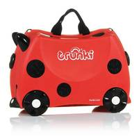 Valise trolley Coccinelle Trunki ride on