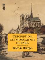 Description des monuments de Paris