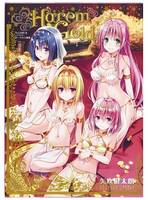TO LOVE DARKNESS ARTBOOK HAREM GOLD