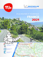 ATLAS ROUTIER FRANCE 2021 - L'ESSENTIEL (A4-BROCHE)