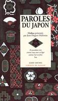 PAROLES DU JAPON, haïkus