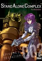 Épisode 2, Testation, The Ghost in the shell - Stand Alone Complex - Tome 02, ghost in the shell