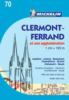 Plan Clermont-Ferrand et son agglomeration