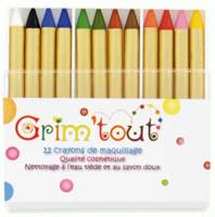 12 crayons maquillage