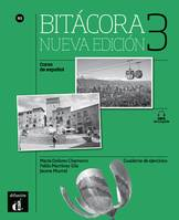 BITACORA 3 NOUVELLE EDITION - CAHIER D'EXERCICES + MP3