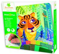 Coffret 3 Mosaiques Jungle