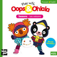 Play with Oops & Ohlala : Les saisons, Livre