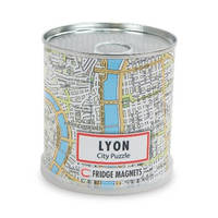 CITY PUZZLE LYON 100 PIECES MAGNET.