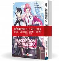 Classroom for Heroes - Pack promo vol. 01 et 02