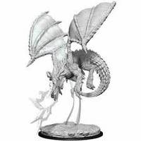 D&D NOLZUR'S MARVELOUS MINIATURES - BLISTER - YOUNG BLUE DRAGON