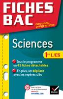 Fiches Bac Sciences 1re ES/L