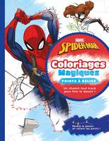 SPIDER-MAN - Coloriages Magiques - Points à relier - MARVEL