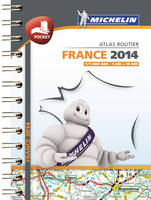 France, Mini atlas routier 100 % plastifié / 2014 POCKET