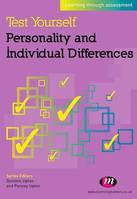 Test Yourself: Personality and Individual Differences, Learning through assessment