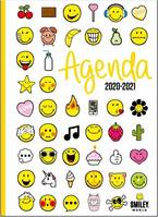 Smiley émoticônes / agenda 2020-2021