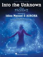 Into the Unknown (from Frozen II), Piano/Vocal/Guitar Sheet Music