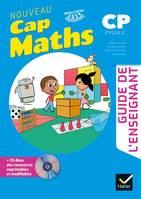 CAP MATHS CP Ed. 2019 Guide pédagogique + CD Rom, Cp cycle 2