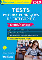 TESTS PSYCHOTECHNIQUES DE CATEGORIE C 2020