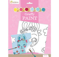 Graffy Paint Lapine 20 x 20 cm