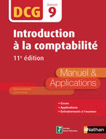 Introduction à la comptabilité - DCG 9 - Manuel et applications, Format : ePub 3