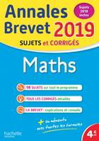 Annales Brevet 2019 Maths