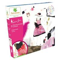 Coffret 5 planches de Stylisme Couture Fashion Box