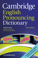 Cambridge English Pronouncing Dictionary Eighteenth Edition Paperback, Livre broché